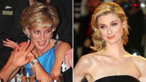 NY SKUESPILLER: Sesong fem av «The Crown» byr på en ny skuespiller i rollen som prinsesse Diana. Og likheten er slående.