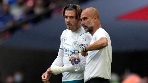 Manchester City og Pep Guardiola har kjøpt Jack Grealish fra Aston Villa i sommer.
