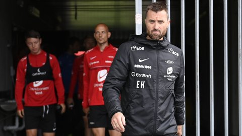 Brann og trener Eirik Horneland har fått en tøff oppladning til kampen mot Sandefjord.