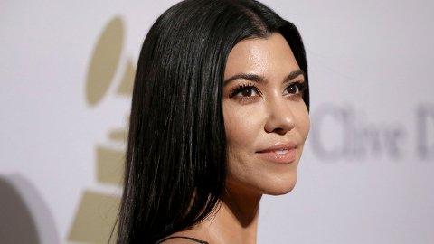 NY LOOK: Kourtney Kardashian har kvittet seg med det lange håret.