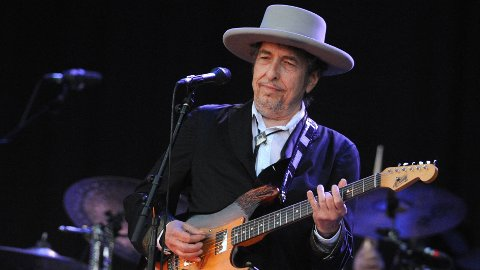 Bob Dylan avbildet i 2012.