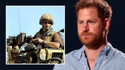 TJENESTEGJORDE: Prins Harry tjenestegjorde ti år i den britiske hæren, og var to turer til Afghanistan. Nå er han rystet over hva som skjer i landet.