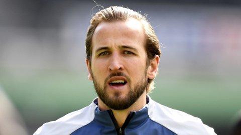 VIL BORT: Harry Kane skal ifølge engelske medier fortsatt håpe på en overgang til Manchester City i dette overgangsvinduet.