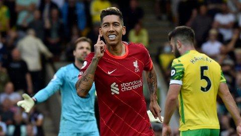Liverpool scoret i serieåpningen mot Norwich.