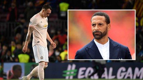 Tidligere Manchester United-spiller Rio Ferdinand kom med skarp kritikk mot Phil Jones. Noen mener han gikk for langt.