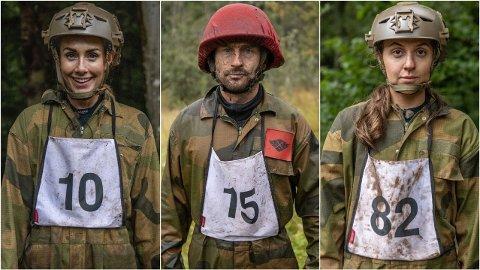 NYE REKRUTTER: En gjeng med nye kjendiser er klare for sesong tre av «Kompani Lauritzen».