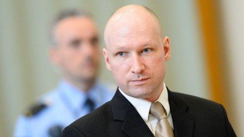 TIL RETTEN: Anders Behring Breiviks ønske om prøveløslatelse skal behandles i retten.