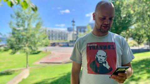 UTRYGGHET: Lynrask digitalisering skaper utrygge år i slutten av livet for mange eldre, mener Mímir Kristjánsson - som selv mener han begynner å slite litt med å henge med i en alder av 35.
