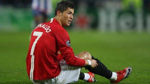 IKONISK NUMMER: Cristiano Ronaldo bar draktnummer 7 i Manchester United i flere år, noe han også har gjort senere i karrieren.