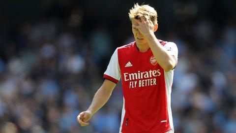 Martin Ødegaard og Arsenal gikk på et ydmykende tap mot Manchester City lørdag ettermiddag.