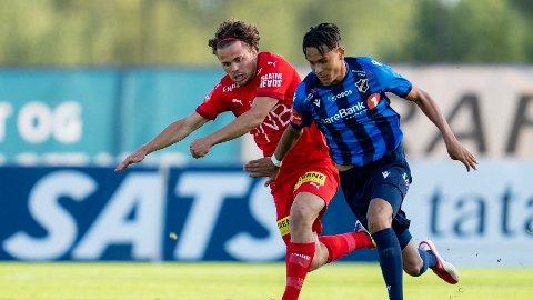 Antonio Nusa (t.h) fortsetter karrieren i Belgia.