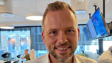 I FORM: SV-leder Audun Lysbakken kan smile bredt etter kruttsterke tall i en fersk meningsmåling.
