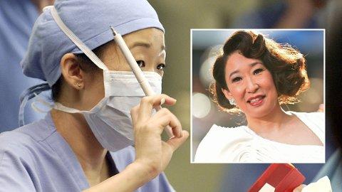 STJERNE: Sandra Oh hadde allerede en suksessfull karriere hjemme i Canada før hun ble med i «Grey's Anatomy». Da fikk hun brått fans over hele verden.