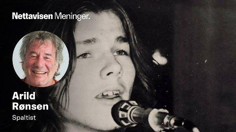 MORTEN HARKET: Norges største popstjerne - her i et tidlig stadium av a-has eventyrlige karriere.