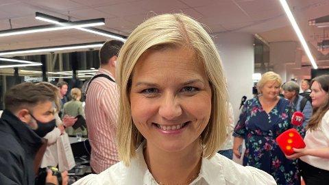 GJESTEREDAKTØR: Venstre-leder Guri Melby skal få sette noe av dagens agenda i Nettavisen.