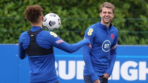Patrick Bamford (t.h.) spilte for Gareth Southgates U21-landslag for åtte år siden. Søndag kan han debutere for det engelske A-landslaget.