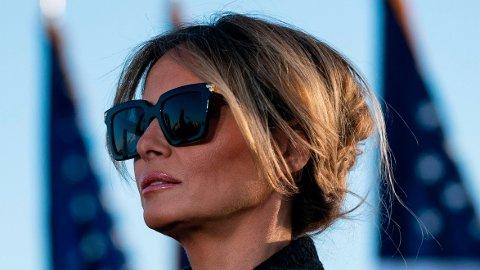 FÅTT NOK: Ifølge CNN har ikke Melania Trump noen interesse av å hjelpe sin ektemann Donald Trump med hans politiske ambisjoner, og at hun heller ikke ønsker en ny runde som førstedame i Det hvite hus.