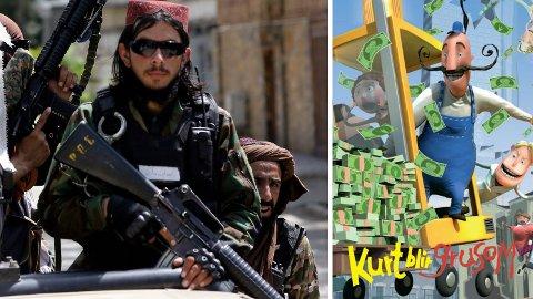Ifølge Aftenposten har Talibans folk samlet sammen søppelsekker med ting de anser som skrot, som en CD med norske julesanger og en DVD med filmen «Kurt blir grusom».