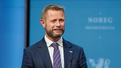 SISTE?: Om noen dager kan det bli et regjeringsskifte, så det kan hende dette er helseminister Bent Høie' aller siste korona-pressekonferanse.