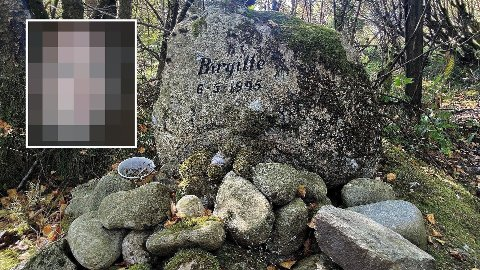 FIRE AVHØR: Den nå drapssiktede mannen har så langt vært i politiavhør. To av dem var på 90-tallet der han forklarte at han ikke kjente Birgitte Tengs som ble funnet drept i mai 1995. Hun ble funnet her hvor minnestedet er i dag.