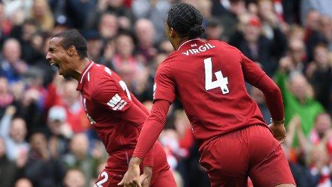 Liverpool taper ikke med Virgil van Dijk og Joel Matip som midtstoppere.