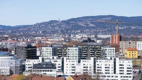 ADVARER: Boligprisene i Oslo ligger en god del høyere enn de burde.