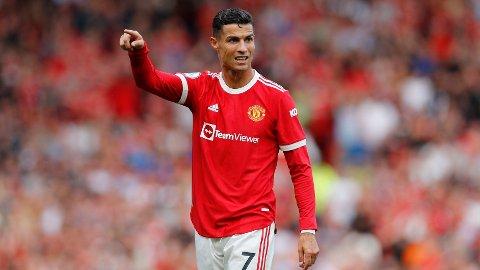 TILBAKE: Cristiano Ronaldo er nå tilbake i Manchester United, og fikk sin redebut for rødtrøyene i helga mot Newcastle.