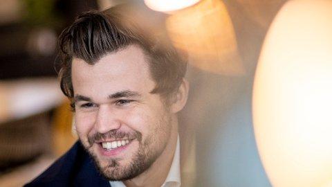 KAN GLISE: Magnus Carlsen dro inn over 40 millioner i fjor.