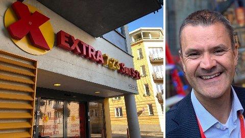 FORNØYD: Kjededirektør Christian Hoel i Extra er fornøyd med veksten til Coops lavpriskjede.