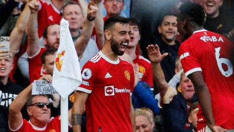 VÆRENDE? Manchester United har kontraktene til Bruno Fernandes og Paul Pogba høyt oppe på prioriteringslista.