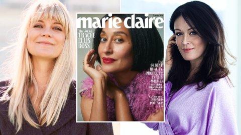 KRAFTIG NEDGANG: Denne uken ble det slutt for det ikoniske kvinnemagasinet Marie Claire. Norske moteredaktører er ikke bekymret til tross for nedgang blant de norske printutgavene.