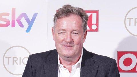 BRITISK KJENDIS: Piers Morgan har gjort seg kjent som journalist, skribent, forfatter og tv-personlighet.