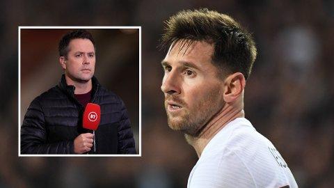 SLAKTER MESSI: Lionel Messi fikk knallhard kritikk av Michael Owen etter PSGs skuffende Champions League-kamp i midtuka.