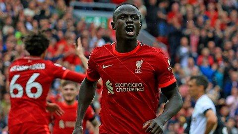 Sadio Mane har scoret i de åtte siste kampene på rad mot Crystal Palace.