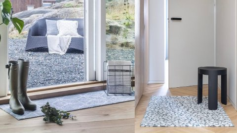 Rent hjem: En solid dørmatte bidrar til at søle og skitt ikke kommer forbi dørstokken.