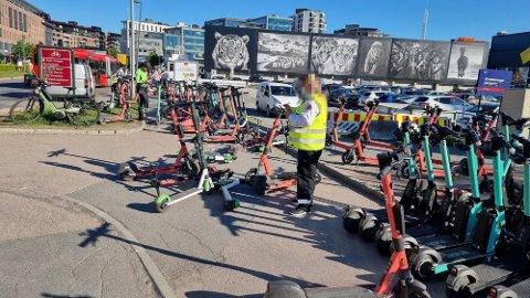 KAOS: Oslo-markedet for elsparesykler har til tider vært kaotisk.