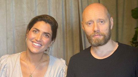 ÆRLIG PODKAST: Iselin Guttormsen inviterer Aksel Hennie til en åpen prat om sex i podkasten «G-punktet».