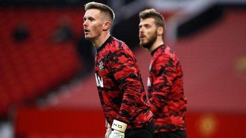 LITE TILLIT: Dean Henderson har foreløpig ikke fått spilletid for Manchester United denne sesongen. Nå kan han ende opp med å forlate klubben på lån i januar.