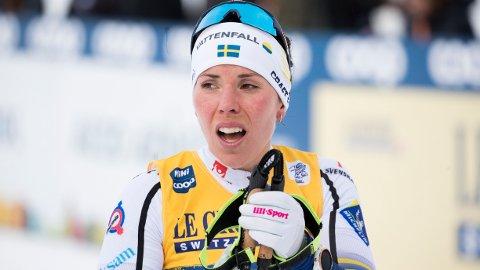 REAGERER: Charlotte Kalla er kritisk til det svenske skiforbundet.