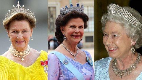 UVURDERLIG: Medlemmene av kongefamilien sparer ikke på kruttet når det gjelder finstasen og bruker ofte smykker til en vanvittig pris.