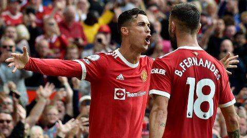 Cristiano Ronaldo har scoret fire mål på tre kamper for Manchester United.