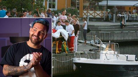 SER TILBAKE: Alejandro Fuentes ser tilbake 13 år i livet, og minnes skandaleulykken i Kristiansand som forandret livet hans.