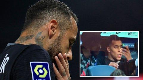 OPPGITT: Ifølge utenlandske medier skal Kylian Mbappé være oppgitt over lagkamerat Neymar.