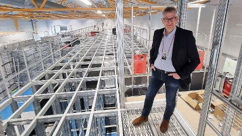 SUKSESS: Karl Johan Lier er toppsjef i Autostore, som lager robotiserte lagersystemer for næringslivet.