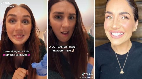 TREND: Flere unge kvinner fjerner sin egen spiral og legger ut videobevis på TikTok. Det sjokkerer Iselin Guttormsen.
