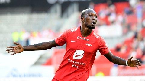 HAR OVERRASKET: Daouda Bamba har fått en overraskende god start i sin nye klubb Altay i Tyrkia.
