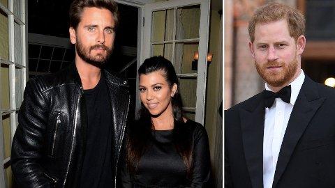 POTENSIELL MATCH: Komiker Katherine Ryan prøvde å få Kourtney Kardashian til å velge prins Harry over eksen Scott Disick.