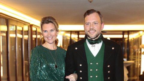 BLIR FORELDRE IGJEN: Audun Lysbakken og kona Siv Mjaaland venter sitt tredje barn sammen.