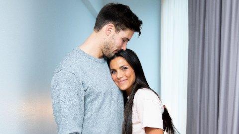 MYE FØLELSER: Det var ikke bar en opptur å bli gravid for ekteparet Jørgine Massa Vasstrand og Morten Sundli.