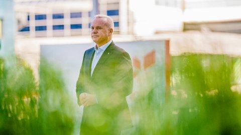 SATSER GRØNT: Equinor-sjef Anders Opedal sier selskapet vil satse 350 milliarder kroner på grønn industri.